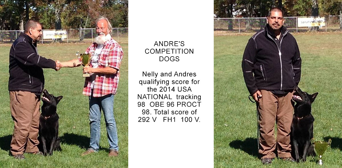 Andres and Nelly National Tracking Competition Results