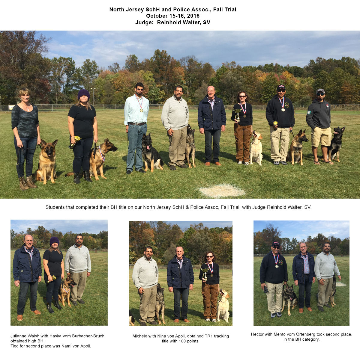 Andre and Students - Frenchtown, NJ - Pro Canine Center